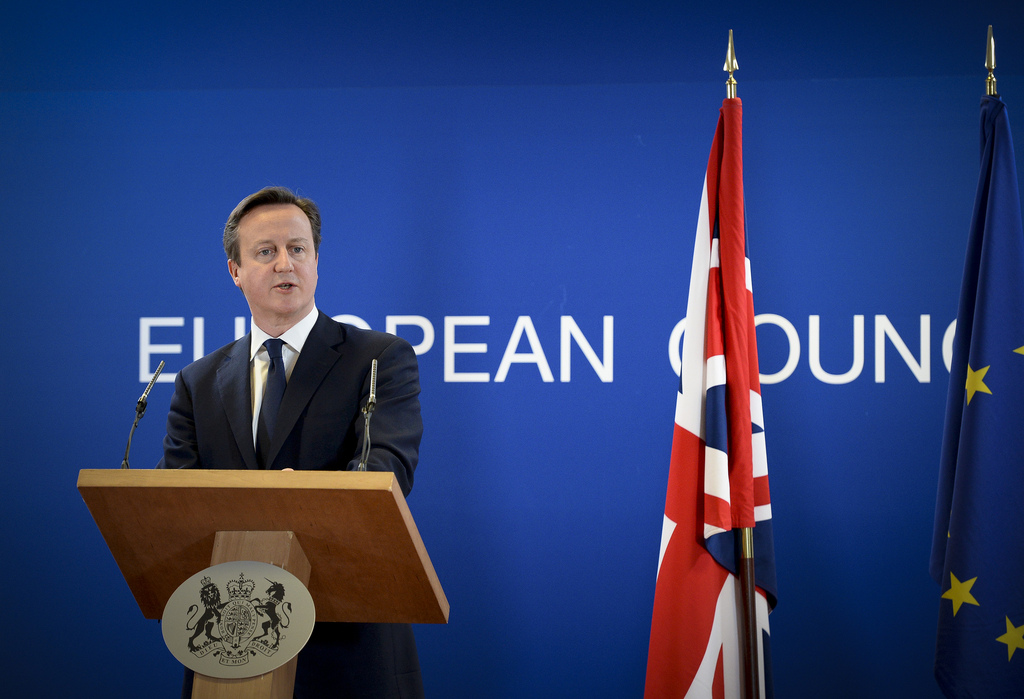 British Prime Minister David Cameron at the European Council meeting of 6th March 2014. Photo credit: The Prime Minister's Office.